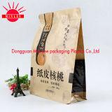 Quadratischer unterer verpackenbeutel für Nahrung, Imbiß