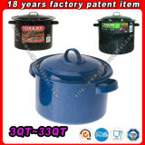 Бак предложения 3qt~33qt фабрики Stock, Stockpot, Stockpot эмали, Cookware