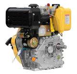 力値単一シリンダー販売のための空気によって冷却されるディーゼル機関4シリンダーディーゼル機関