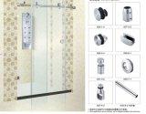 De Toebehoren van de schuifdeur voor de Montage van de Badkamers van het Glas B007