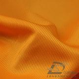 agua de 75D 220t y de la ropa de deportes tela tejida chaqueta al aire libre Viento-Resistente 100% del poliester del telar jacquar de la tela cruzada abajo (E100)