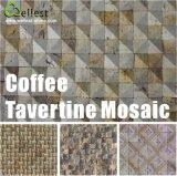 Mármol / travertino / pizarra / de la piedra caliza del mosaico por un revestimiento de la pared y el piso