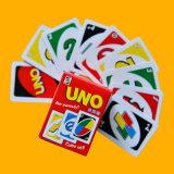 トランプゲームのトランプの火かき棒のカード紙のゲームカード