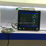 ICU部屋のポータブル15インチのMulti-Parameterの入院患者のモニタ