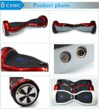 Rotes Electric Two Wheel Self Balance Hoverboard mit APP