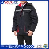 Uniforme chaud de travail de l'hiver bon marché de vêtements de travail avec la bande r3fléchissante (YMU122)