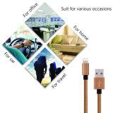 Nylon Braided зарядные кабели USB молнии