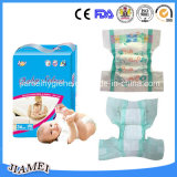 Fábrica Supply Soft Paper Baby Diaper com Factory Price