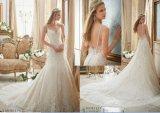 As 2016 o sereias novas/vestido casamento da trombeta com vestidos nupciais