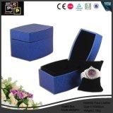 Caixa de jóias de moda pequena e preta de alta qualidade (8156)
