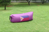 Saco de sono inflável rápido ao ar livre portátil da sala de estar da base de Caping do ar do lugar frequentado da cadeira do sofá da praia