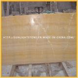 Onyx do mel/telha de mármore amarela/amarela da resina do Onyx de revestimento