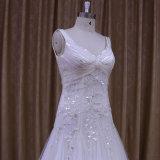 """Vestido de casamento frisado do alfaiate pessoal e plissado """"sexy"""""""