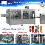 Máquina de enchimento carbonatada frasco do suco da água da bebida do animal de estimação