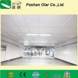 Fournisseur suspendu perforé de panneau de plafond de la colle de fibre