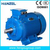 Motor eléctrico de la inducción Squirrel-Cage asíncrona trifásica de la CA de Ie2 1.5kw-4p para la bomba de agua, compresor de aire