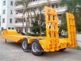 2 Gooseneck van de as Aanhangwagen van de Vrachtwagen van Lowbody Lowloader Lowbed de Semi