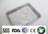 Conteneurs de papier d'aluminium de ménage avec la bonne qualité
