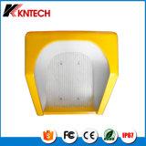 Kntech RF-16 impermeabiliza la cabina de teléfono industrial del capo motor del teléfono, azotea del teléfono