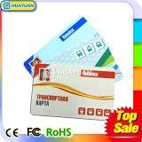 tarjeta de papel ultraligera de 13.56MHz ISO14443A MIFARE C RFID para el transporte
