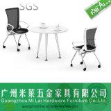 Novo chega melhor mesa de chá de mesa de escritório de metal de qualidade com pé de moldura de aço