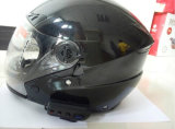 Casque Bt808 d'intercom de Bluetooth de casque de moto de la version 3.0+EDR 1000m de la fréquence 2.4GHz Bluetooth avec FM