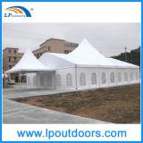 Tente de luxe extérieure d'événement de chapiteau de partie de crête élevée de 400 personnes