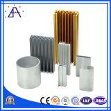 Perfil vendedor superior de aluminio con la capa del polvo