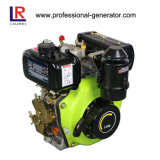 motor diesel 3.8HP para la bomba y la sierpe de agua