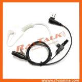 Écouteur clair de police de tube d'oreille pour le talkie-walkie GP68, GP300, GP308, GP350