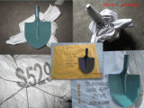 Testa d'acciaio capa della pala del giardino della forcella della pala della pala (A3s)