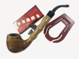 Hoher Grad-gute Qualitätsgeschenk hölzernes rauchendes Pipe