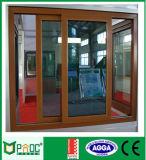 Perfil da liga de alumínio para portas deslizantes com o Doubel que vitrifica As2208