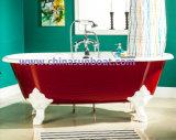 Vasca da bagno indipendente della vasca da bagno di Sunboat/del ghisa dello smalto/grandi vasca/vasca da bagno europee
