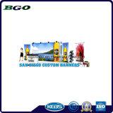 Знамя Frontlit гибкого трубопровода знамени печатание холстины PVC (300dx500d 18X12 400g)