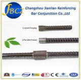 Tipo accoppiamento di Bartec della giuntura del tondo per cemento armato del filetto di parallelo con l'estremità rovesessa 25mm