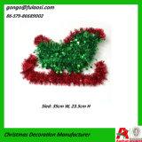 Décoration de tresse de Noël de Santa Sleigh