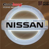 Signage de anúncio acrílico do logotipo do carro do diodo emissor de luz da alta qualidade