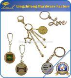 Anel chave relativo à promoção do metal feito sob encomenda do ouro