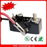Das bunte Gitarren-Pedal-Kabel-Verstärker-Kabel schließen Kabel für elektrische Gitarre an