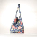 (99212) Toile imperméable à l'eau de type de Britan pliant les sacs à main floraux pour des dames