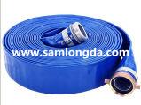 """3/4 """" - 12 """" голубых шлангов полива воды PVC Layflat"""