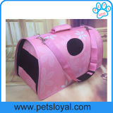 Fábrica de China do portador do curso do gato do filhote de cachorro do cão da fonte do animal de estimação