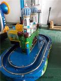 Kiddie 탐 게임 기계 둥근 성곽 트레인