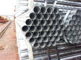 Caldo tuffato galvanizzato intorno al tubo d'acciaio
