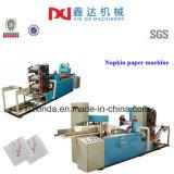 Máquina realzada automática del producto del tejido de la servilleta de la carpeta de la servilleta del papel de imprenta
