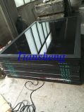 Crim Safe Screen를 가진 주문을 받아서 만들어진 Three Tracks Aluminum Sliding Door