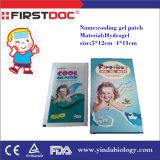 2016 prodotti medici tutti i generi di zona di raffreddamento di febbre del bambino per gli strati di raffreddamento del gel di febbre