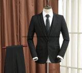 Костюмы черноты офиса способа/шерсти тяжелое дыхание смокинга полные