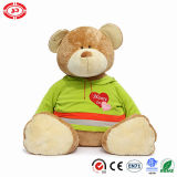 De pluizige Aanbiddelijke Teddybeer van de Jonge geitjes Hugble van het Stuk speelgoed van de Pluche Zachte Grote